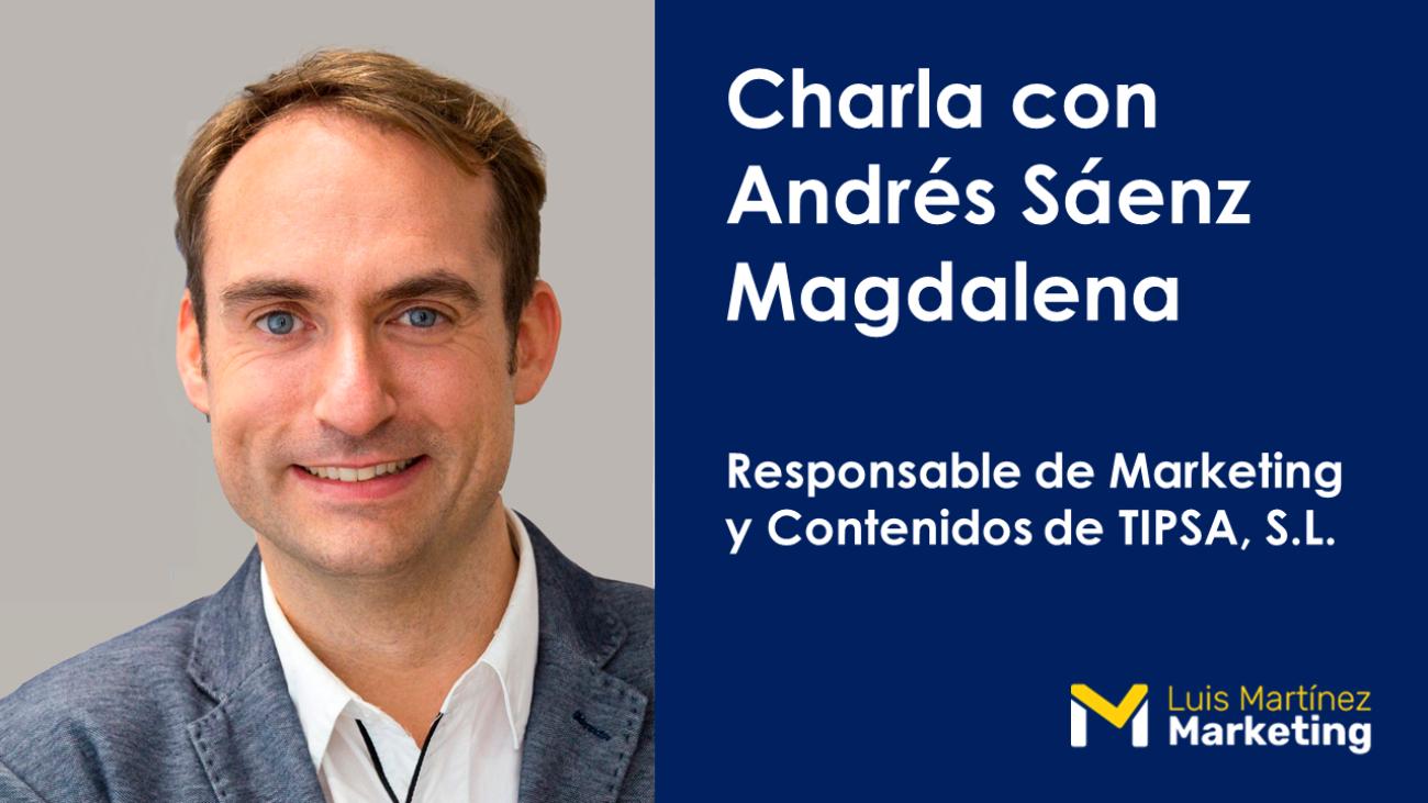 Blog Entrevista Andrés Sáenz Magdalena