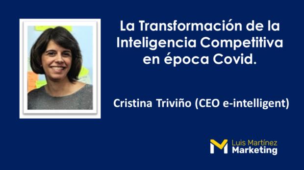 Cristina Triviño Inteligencia Competitiva Pymes COVID